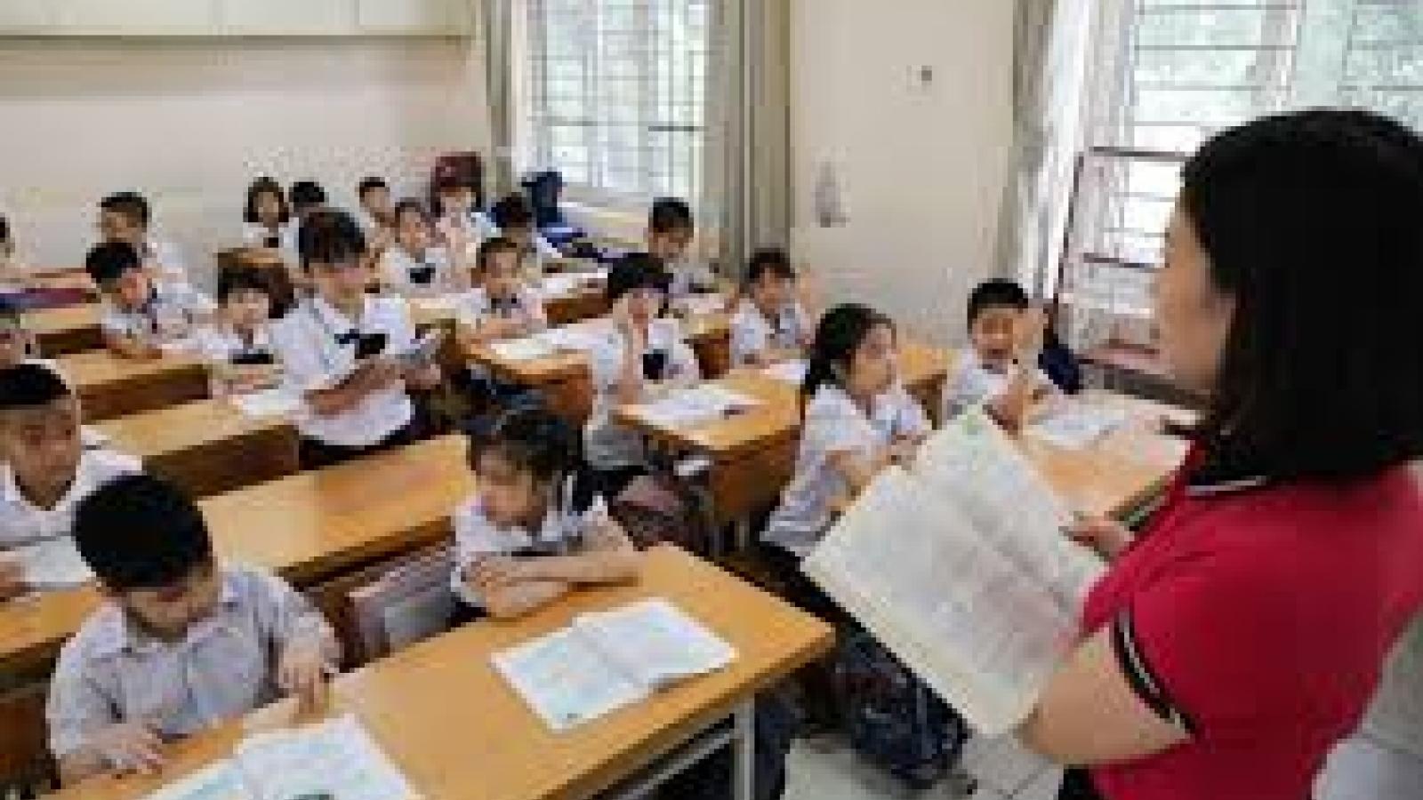 Quy định chi tiết thời gian dạy, nghỉ hàng năm củagiáo viên tiểu học