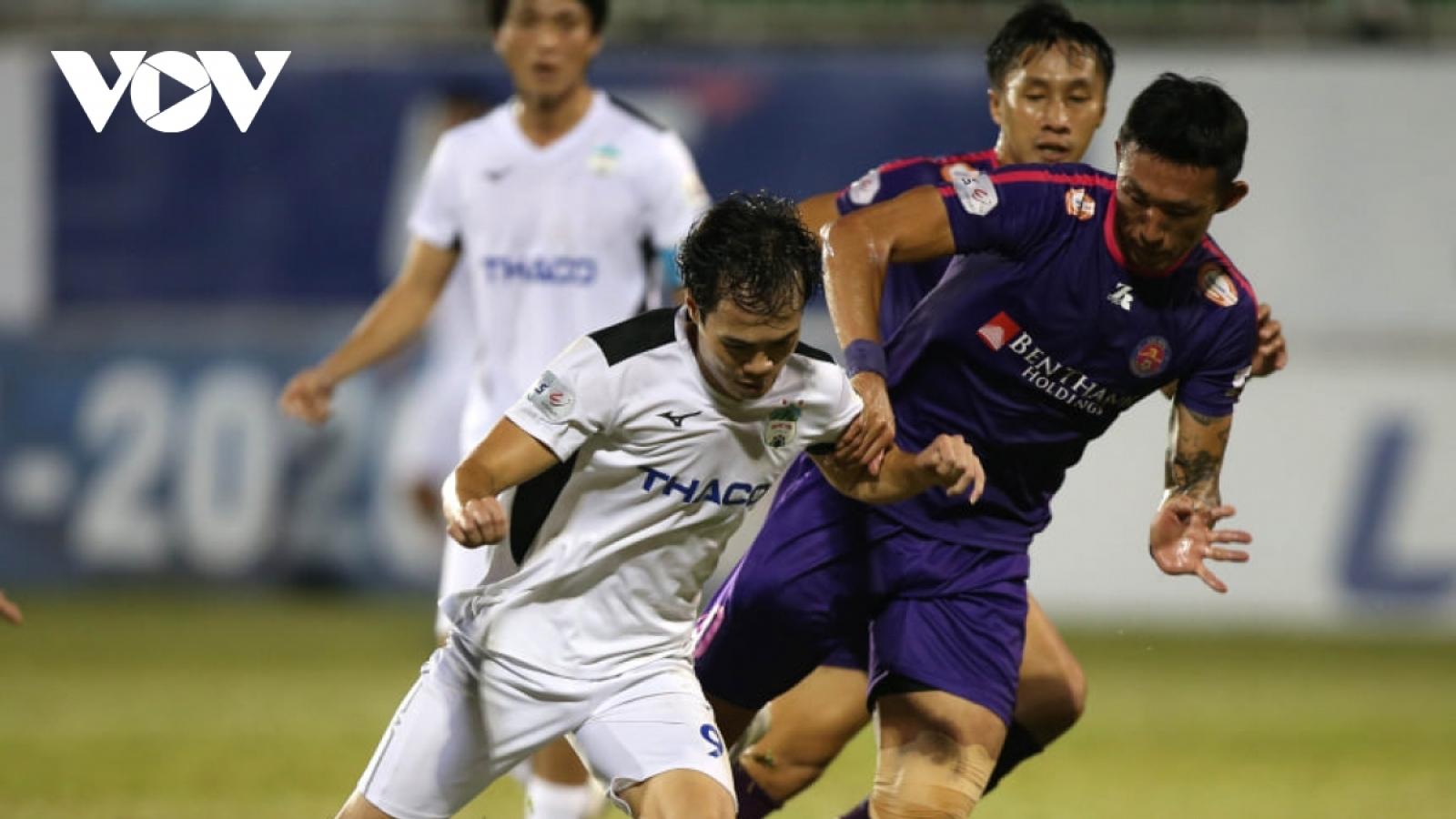 Dự đoán kết quả, đội hình xuất phát trận Sài Gòn FC - HAGL