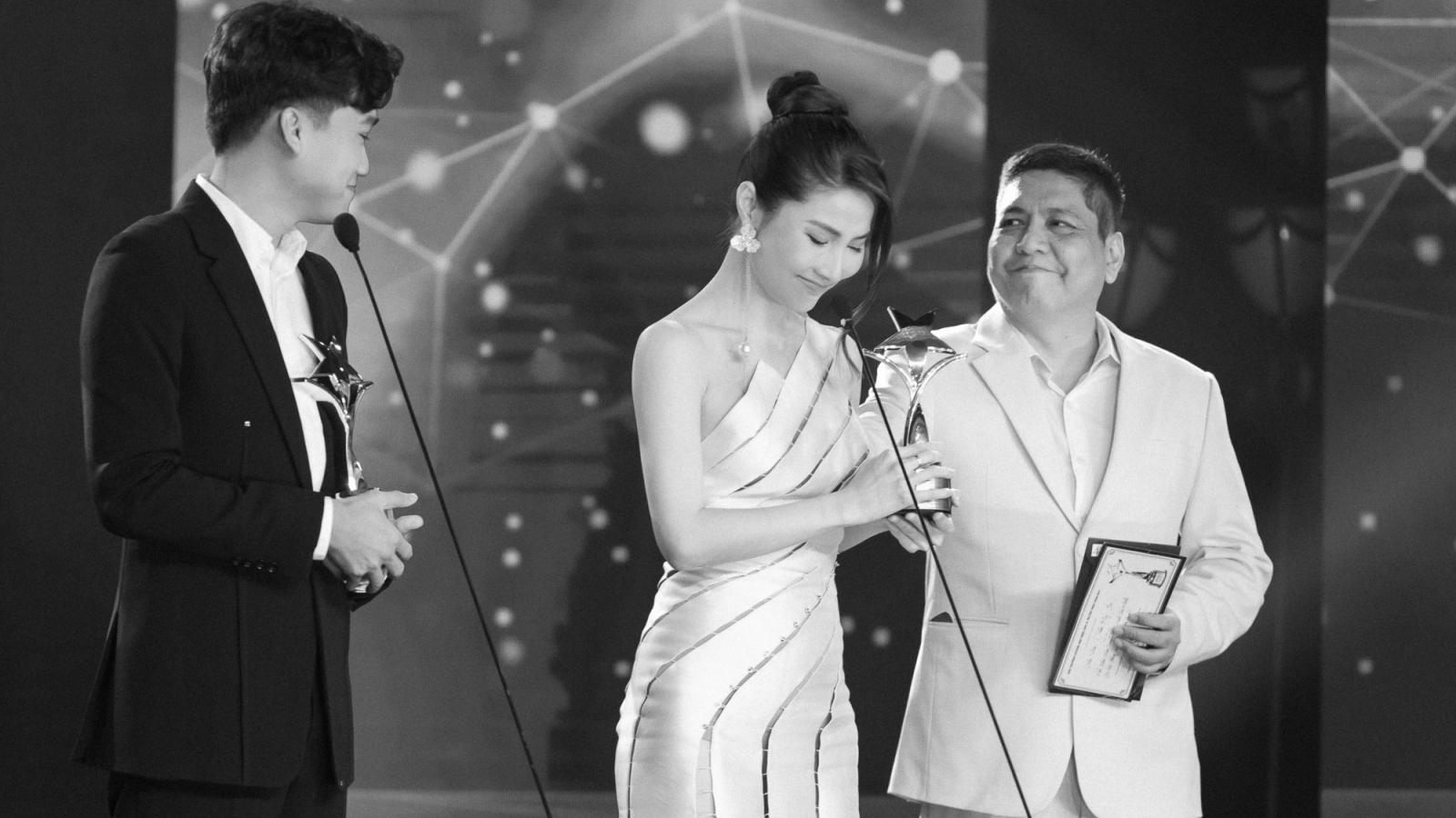 Diễm My 9X giành giải Nữ diễn viên truyền hình xuất sắc nhất tại Giải thưởng Ngôi sao xanh