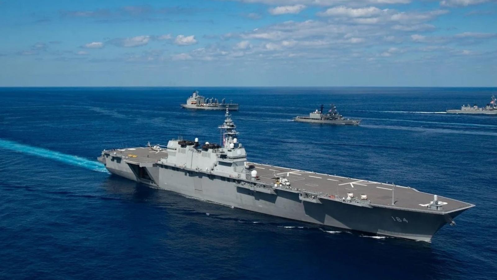"""Tân Tổng thống Mỹ Biden sẽ tái lập Hạm đội 1 để kéo """"bức màn sắt"""" khắc chế Trung Quốc?"""