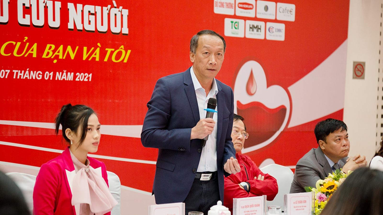 Chủ Nhật Đỏ 2021 dự kiến thu về 50.000 đơn vị máu