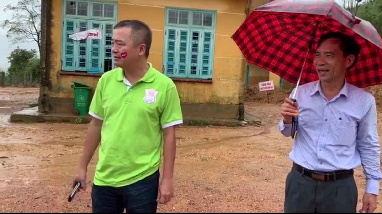 BV Đại học Y Hà Nội hỗ trợ xây dựng khu bán trú cho học sinh ở Quảng Trị