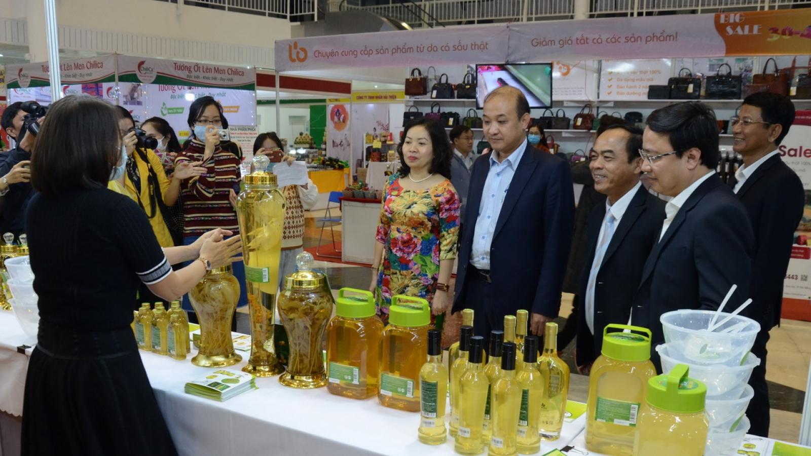 200 doanh nghiệp tham gia hội chợ Xuân Đà Nẵng