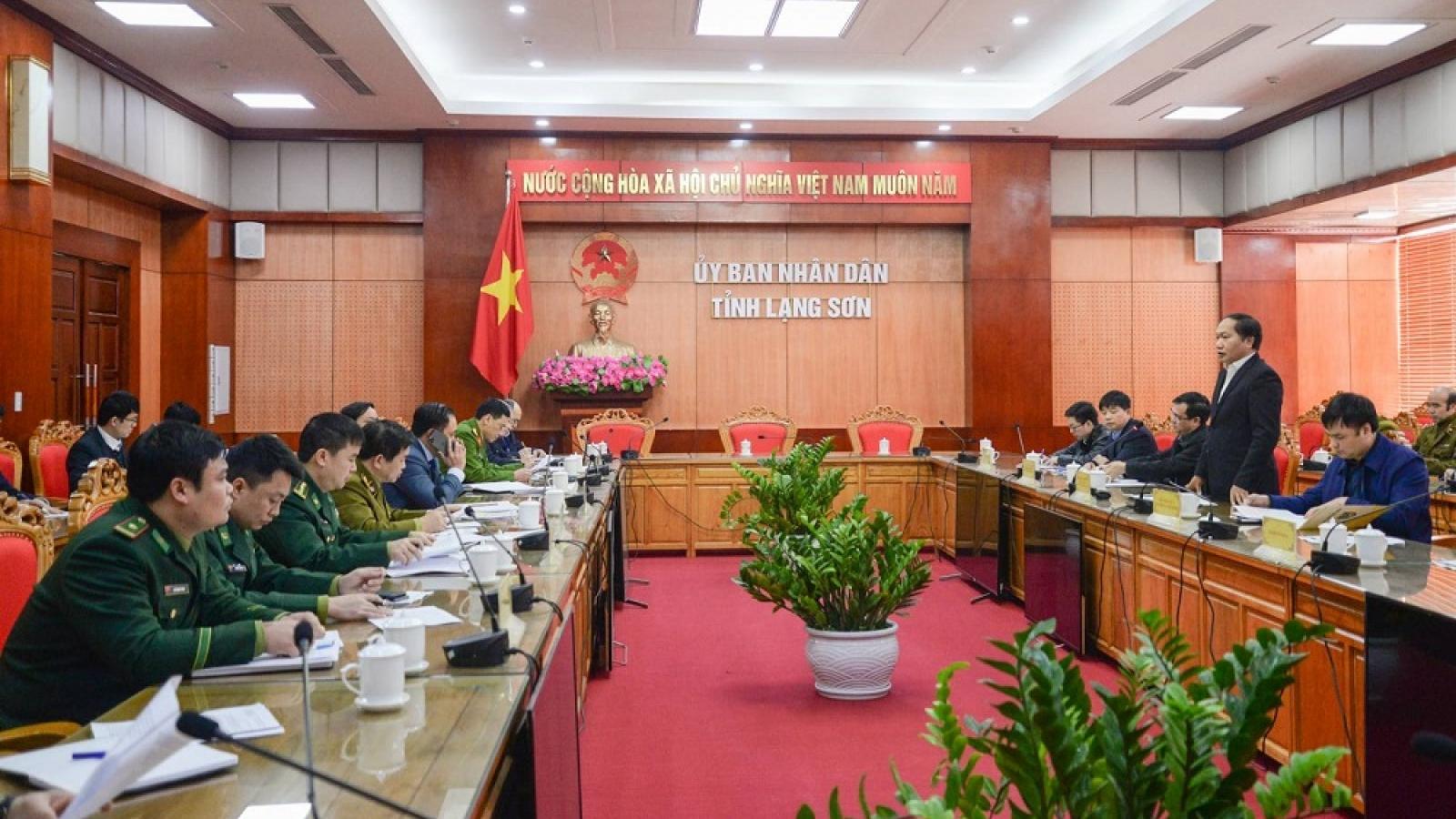 Triển khai đợt cao điểm chống buôn lậu trong dịp Tết Nguyên đán Tân Sửu 2021