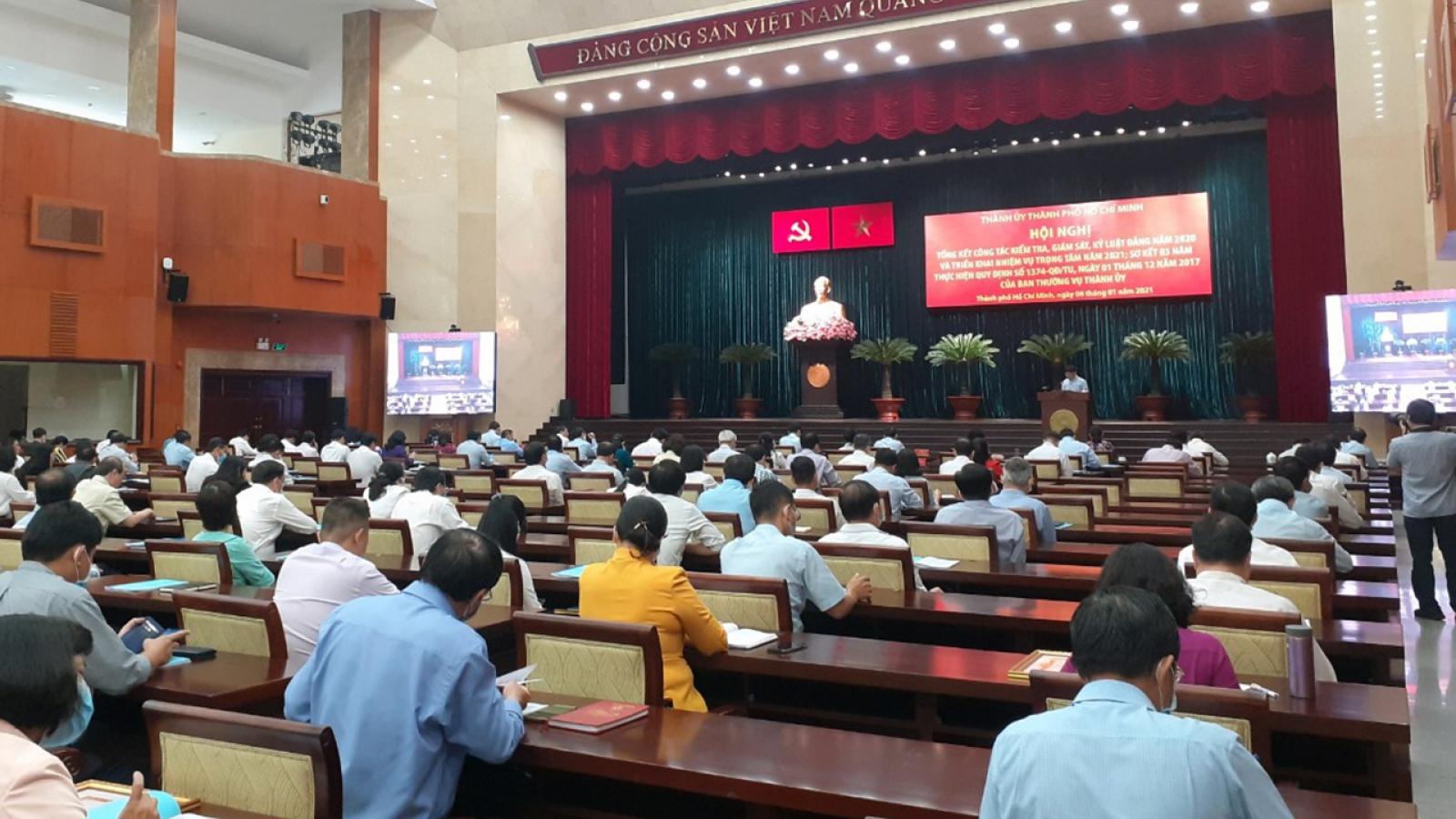 Hơn 500 đảng viên ở Thành phố Hồ Chí Minh bị kỷ luật