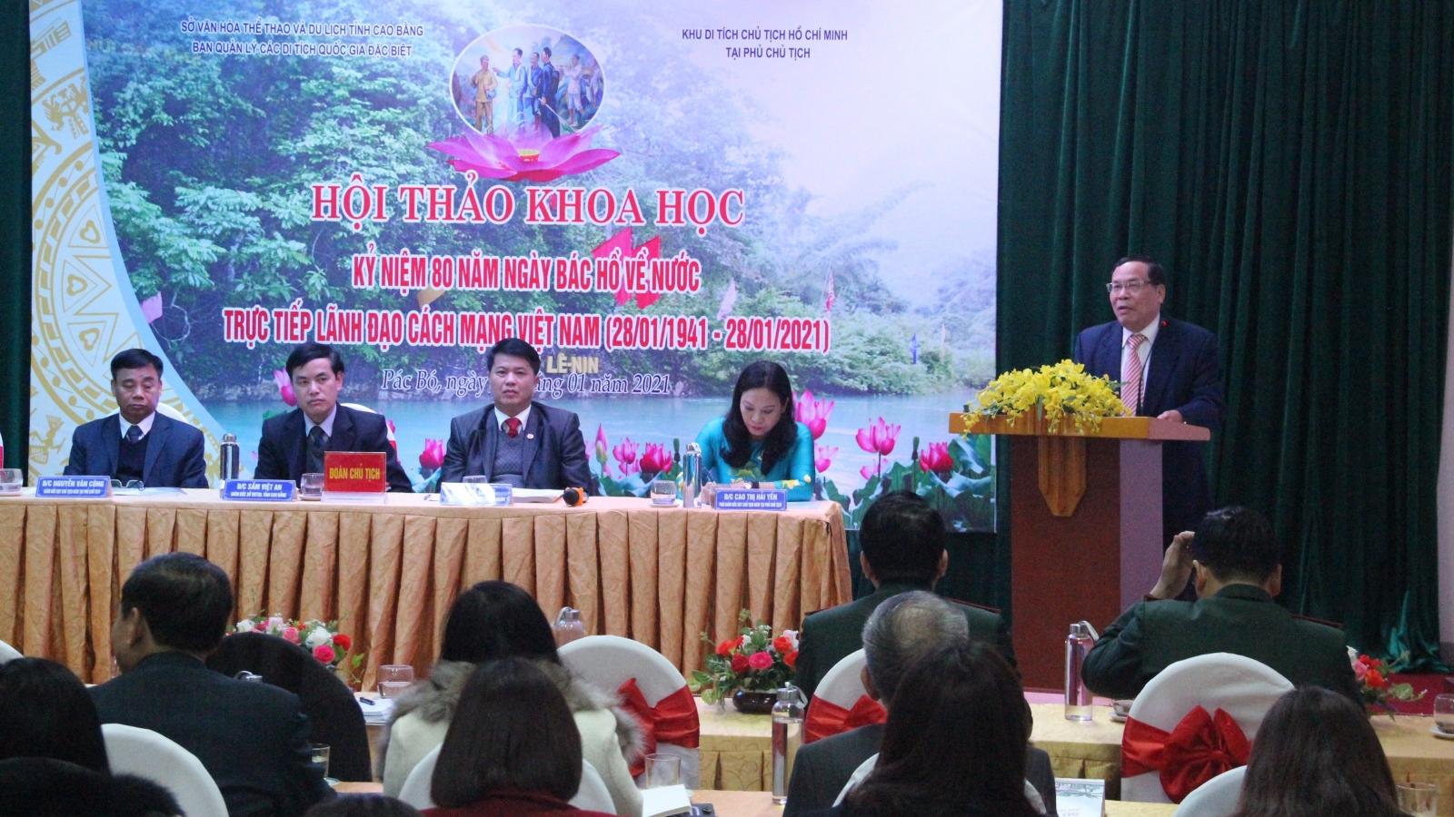 Pác Bó - nơi tạo nền móng vững chắc cho cách mạng Việt Nam