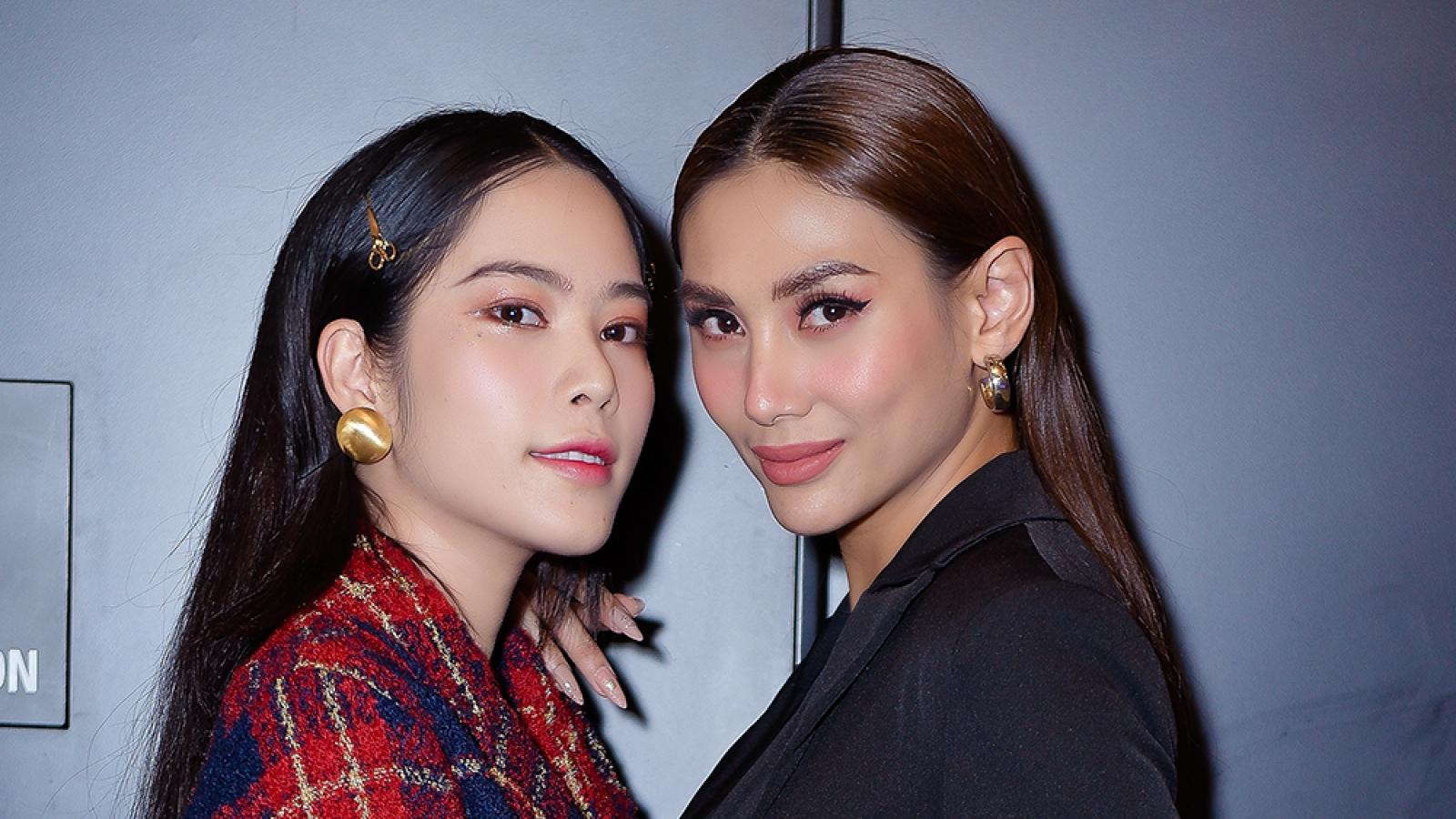 Võ Hoàng Yến, Nam Em rạng rỡ sánh đôi, chúc mừng nghệ sĩ Hà Kiều Anh ra mắt phim