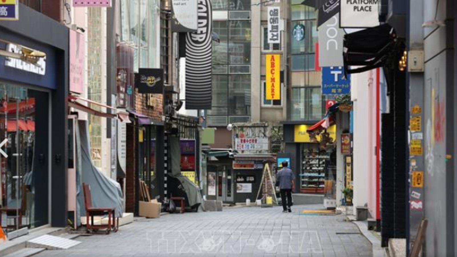 Tăng trưởng kinh tế Hàn Quốc năm 2020 đạt -1%