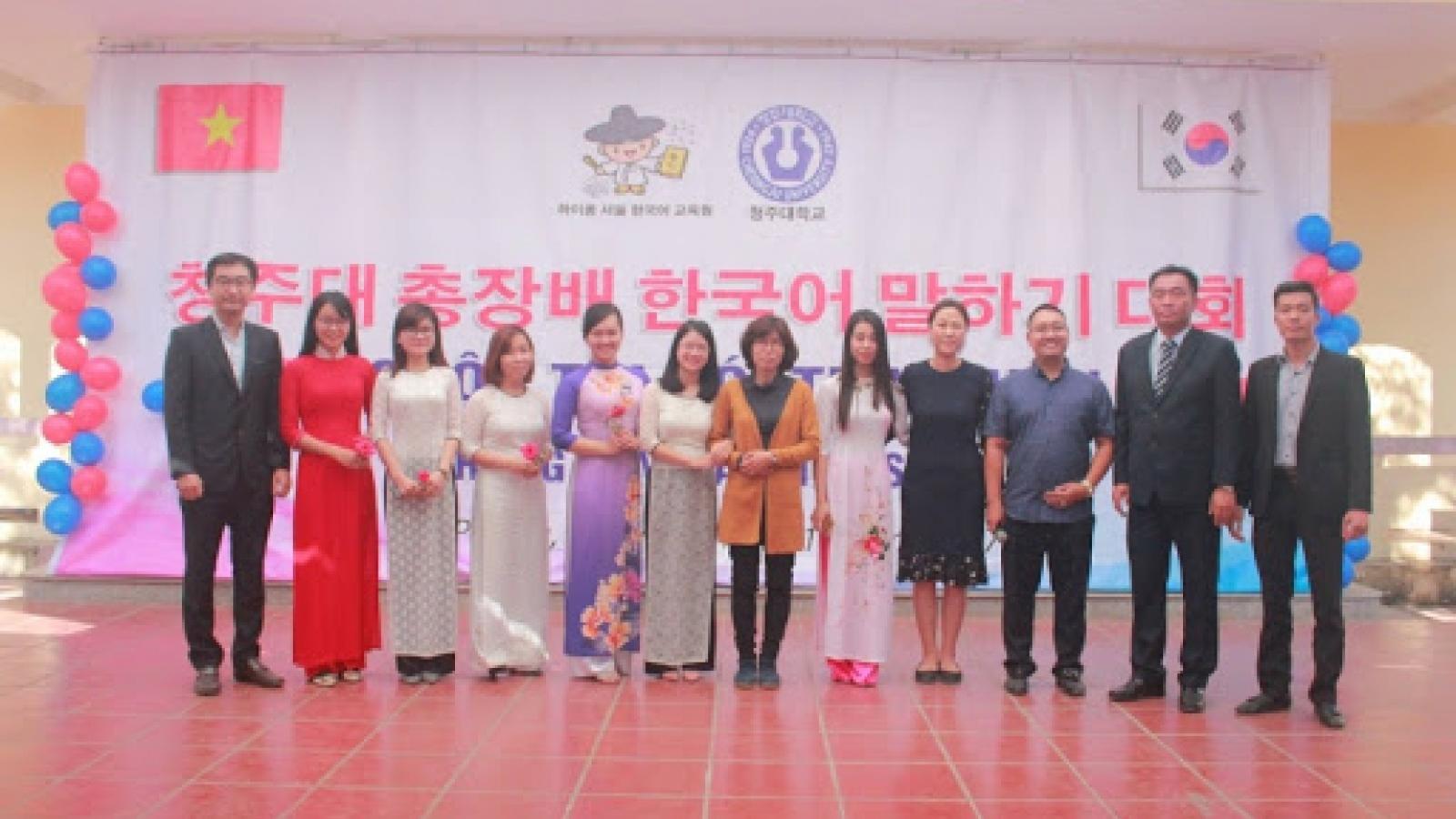 Hàn Quốc mở thêm Trung tâm Hàn ngữ tại Việt Nam