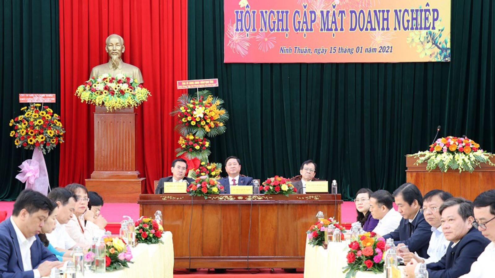 Các địa phương ở Ninh Thuận chưa đồng hành cùng doanh nghiệp