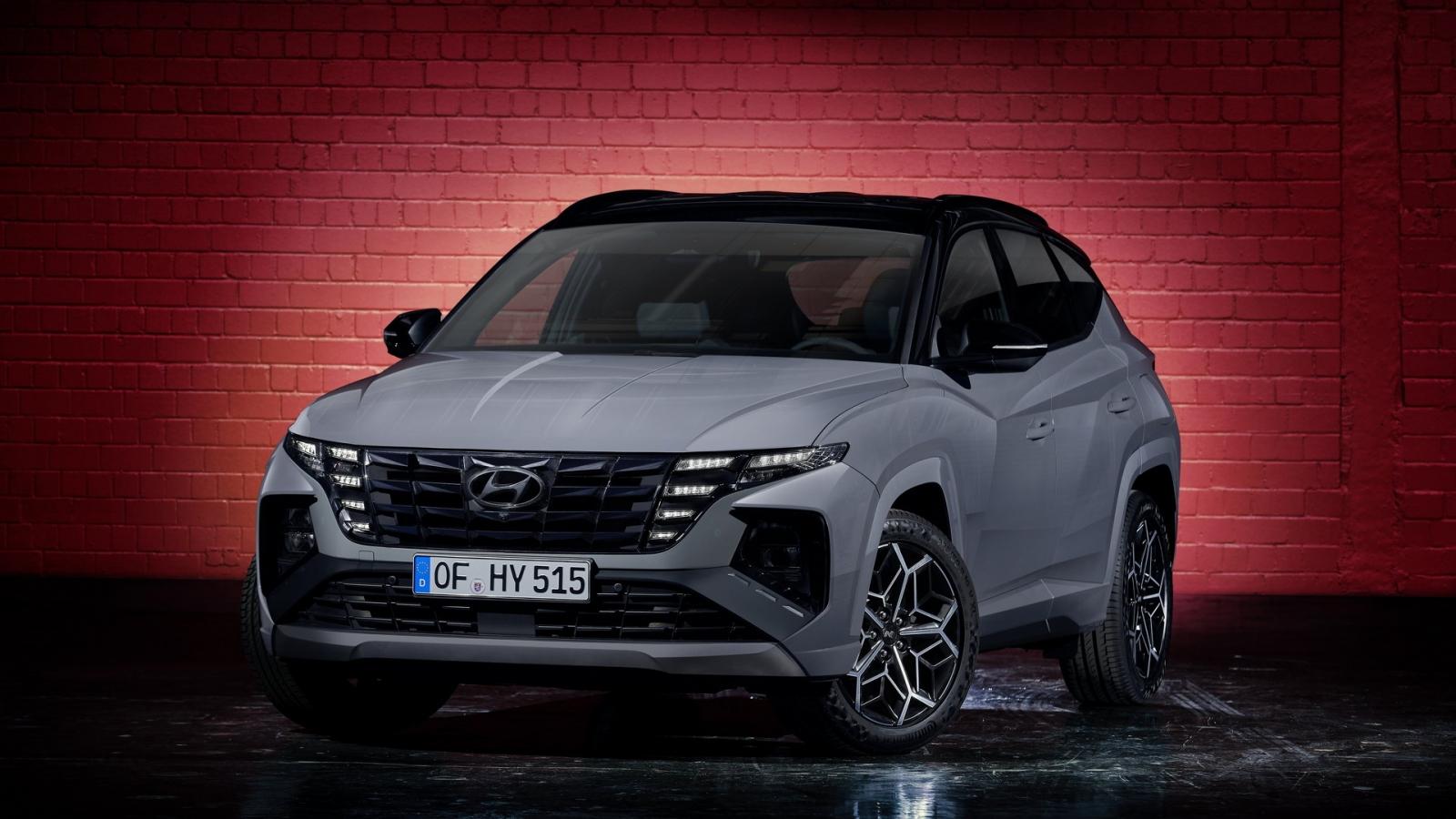 Ấn tượng với thiết kế của Hyundai Tucson N Line 2021 mới