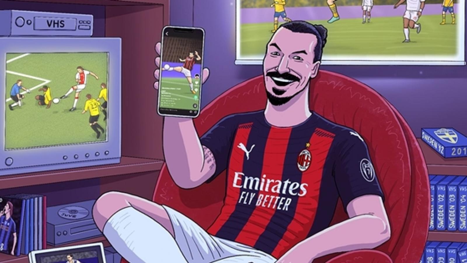 """Biếm họa 24h: """"Tài năng trẻ"""" Zlatan Ibrahimovic không thể ngừng ghi bàn"""