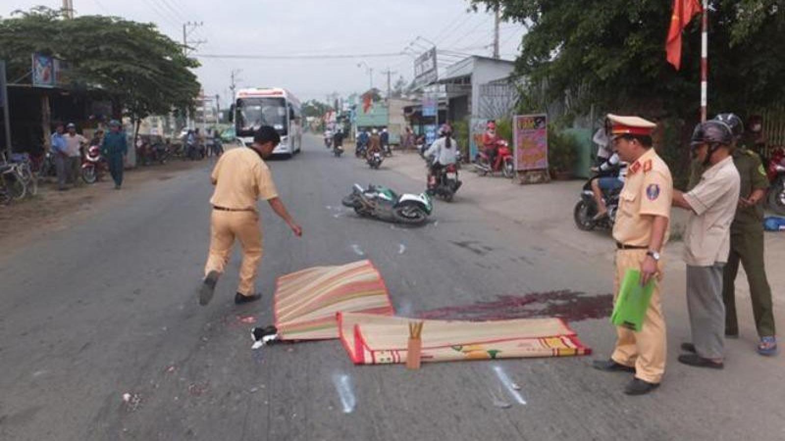 Thiếu tá công an xã tử vong do tai nạn giao thông
