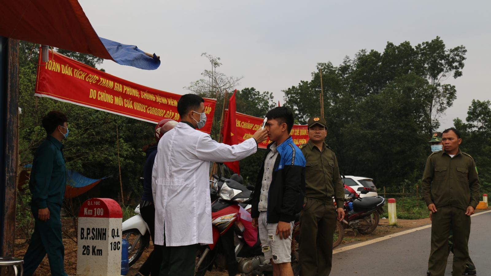 Người dân biên giới ký cam kếtphát hiện, tố giác ngườinhập cảnh trái phép