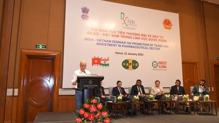 Vietnamese, Indian pharmaceutical firms have great opportunities in Vietnam