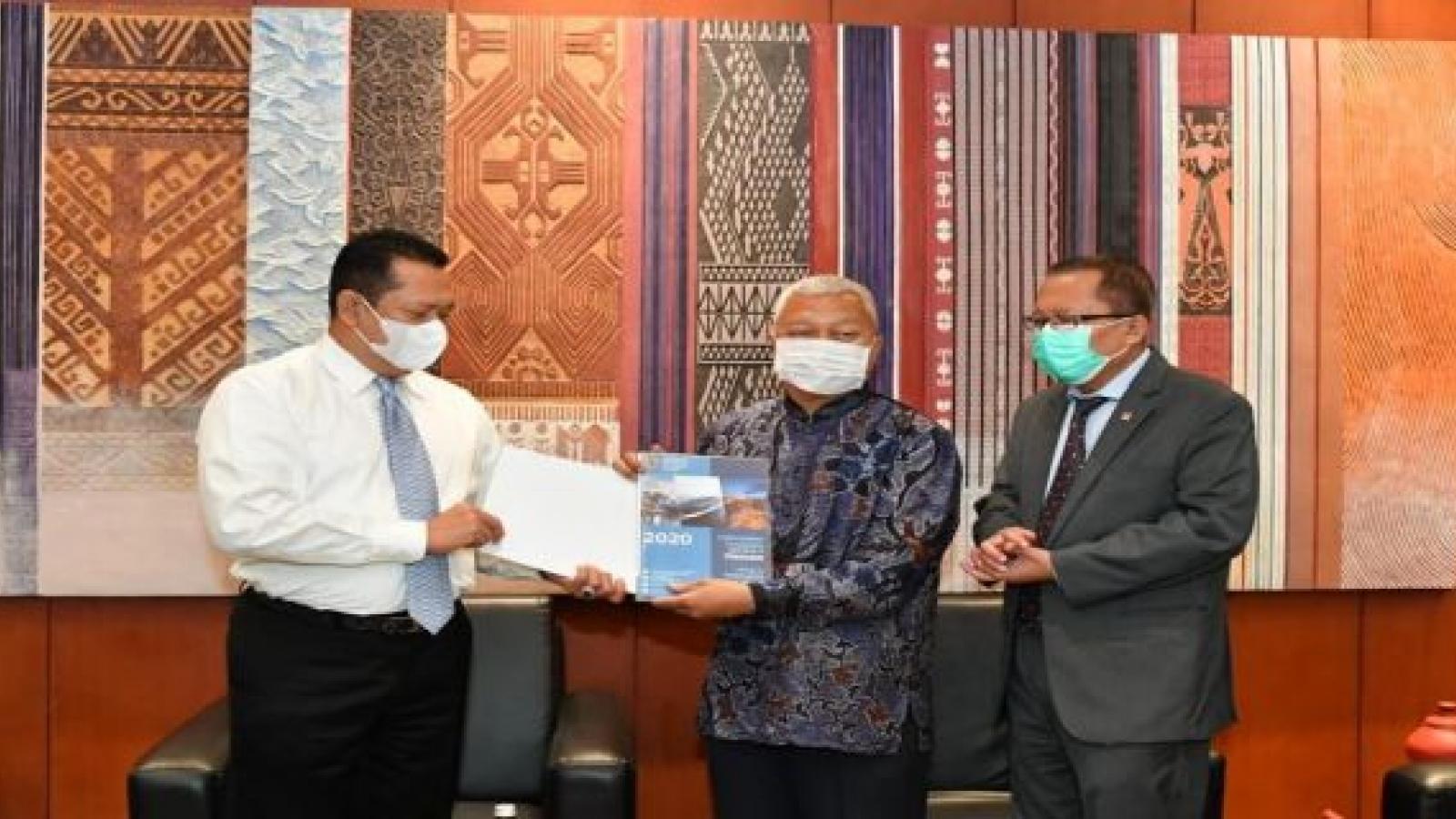 Quốc hội Indonesia ca ngợi chính sách chống Covid-19 của Việt Nam