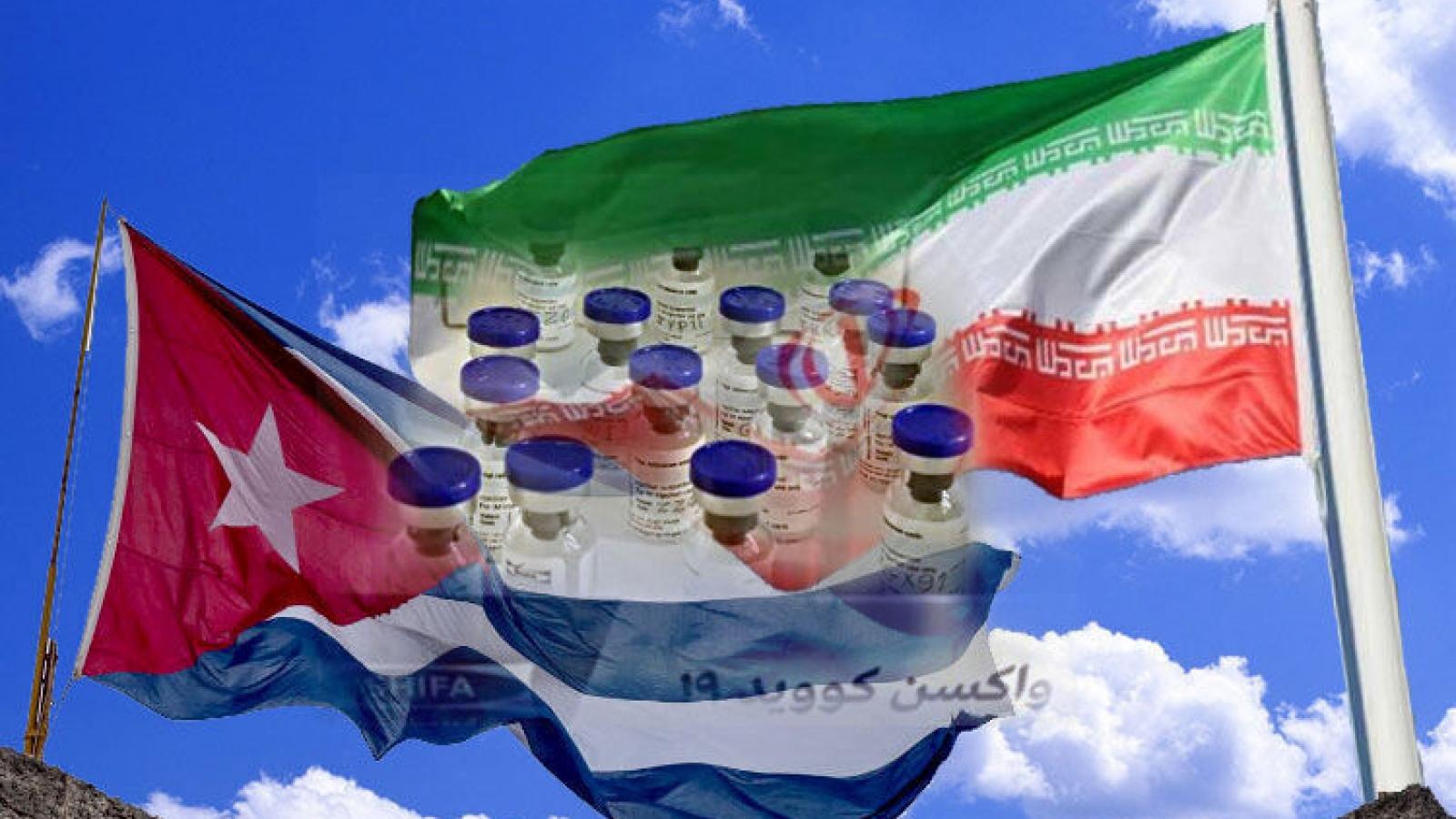 Iran hợp tác với Cuba sản xuất vaccine ngừa Covid-19
