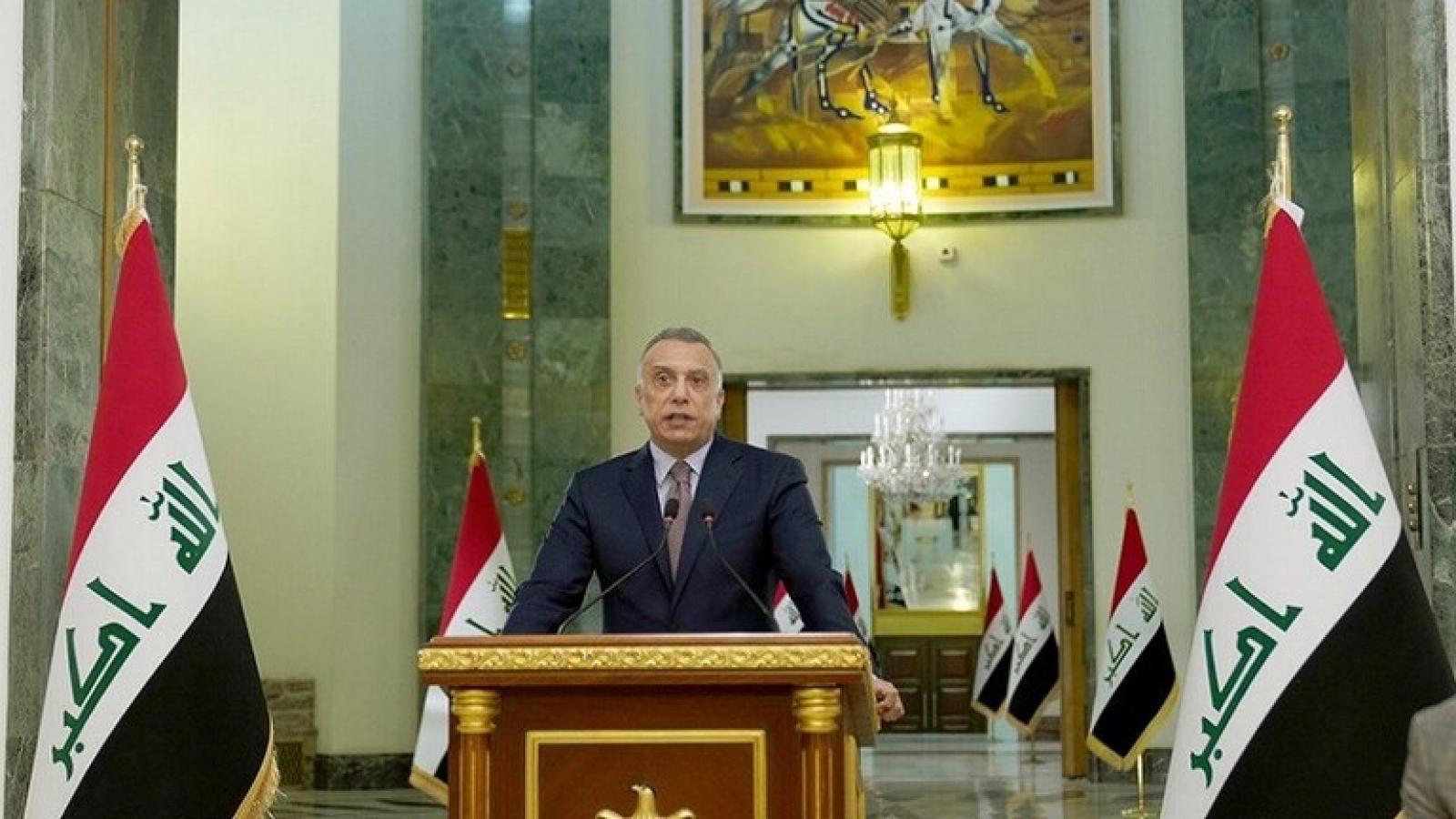 Thủ tướng Iraq: Mỹ sẽ rút hơn nửa quân số khỏi Iraq