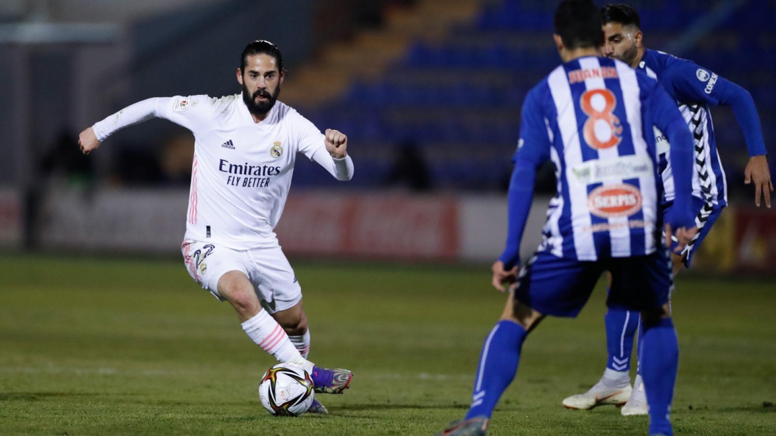 """Thua sốc đội hạng Ba, Real Madrid bị loại """"cay đắng"""" ở Cúp Nhà vua Tây Ban Nha"""
