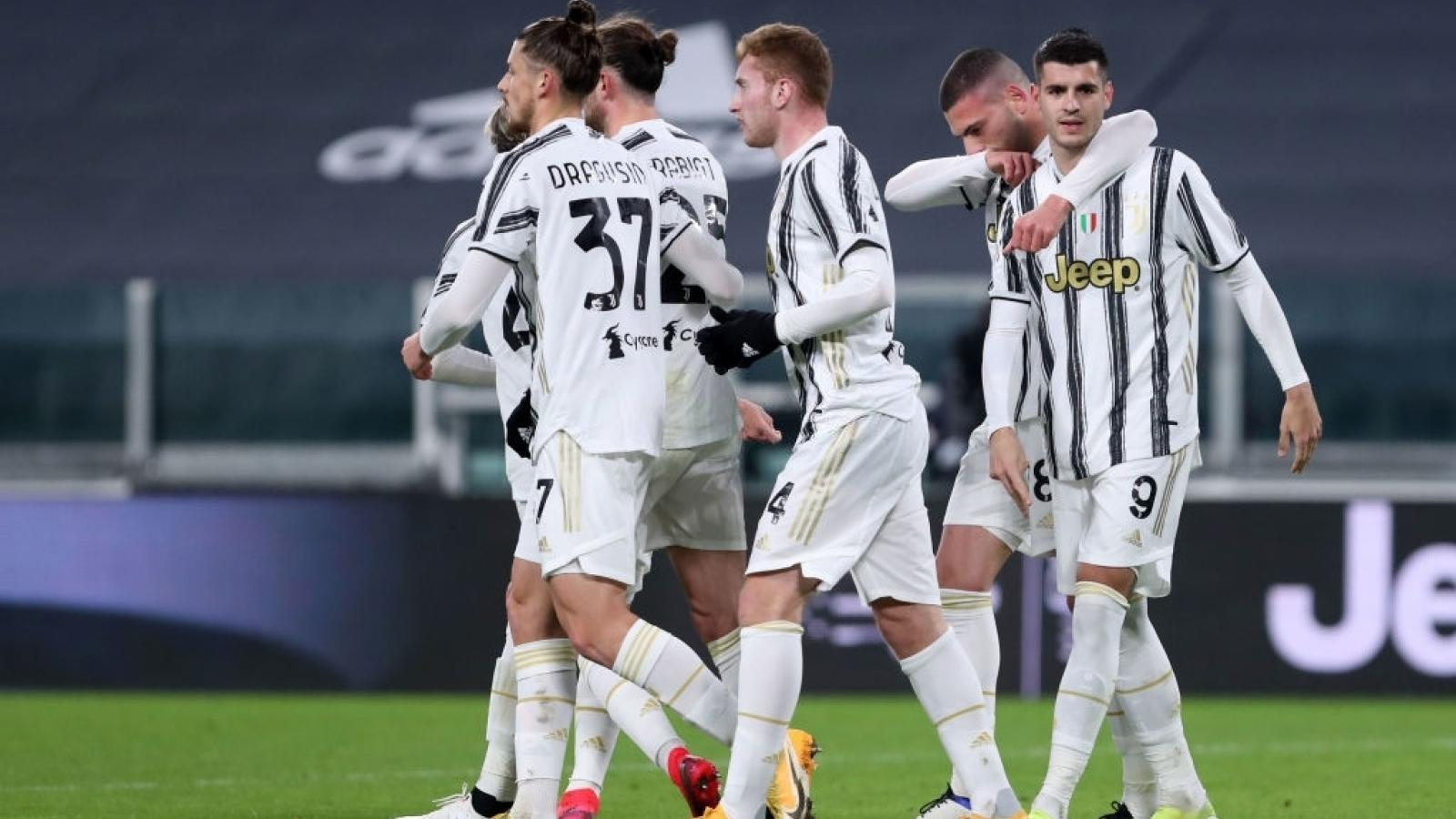 """""""Đè bẹp"""" SPAL, Juventus gặp Inter Milan ở bán kết Coppa Italia"""