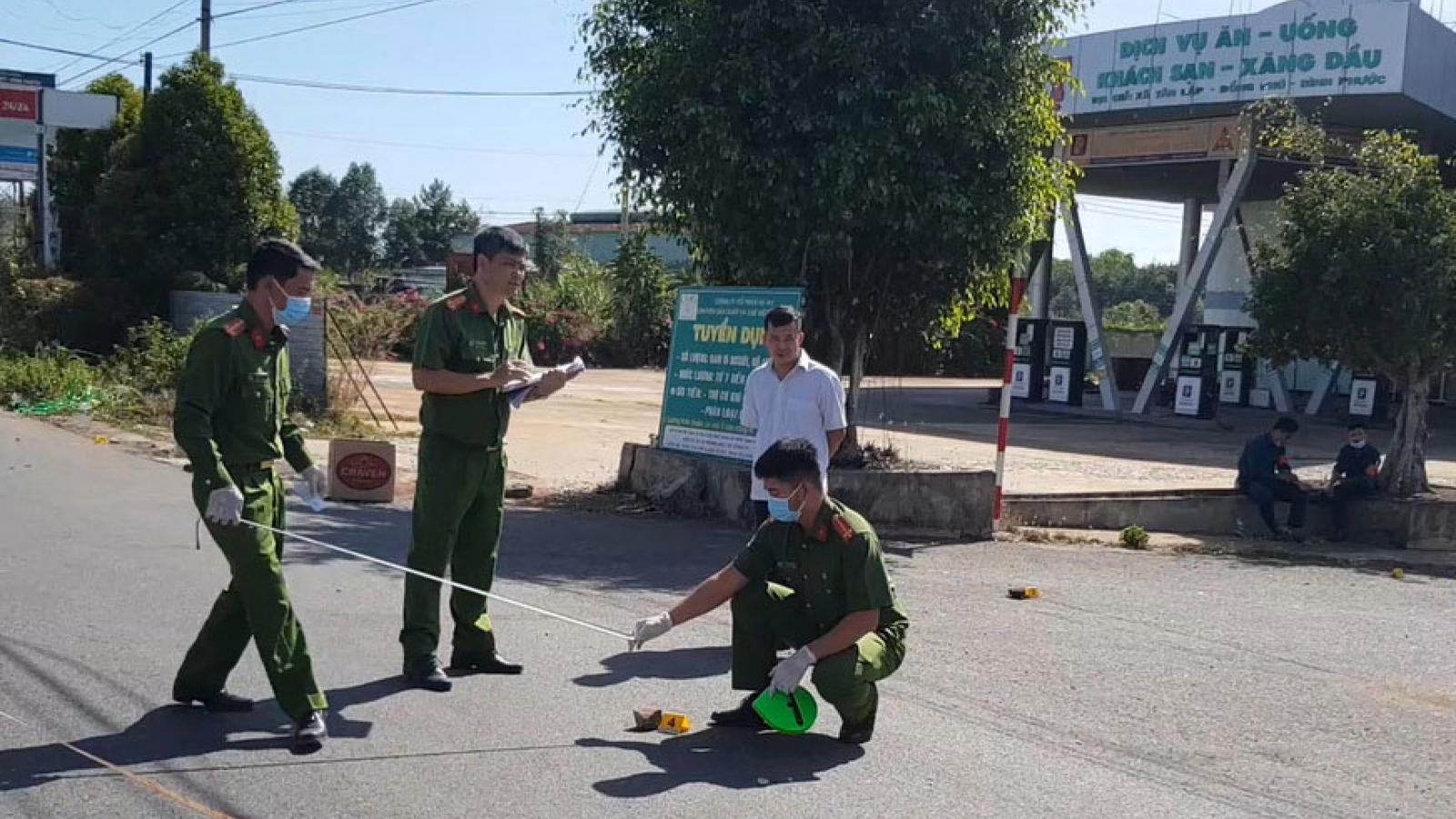 Giải quyết mâu thuẫn bằng súng khiến 3 người thương vong ở Bình Phước