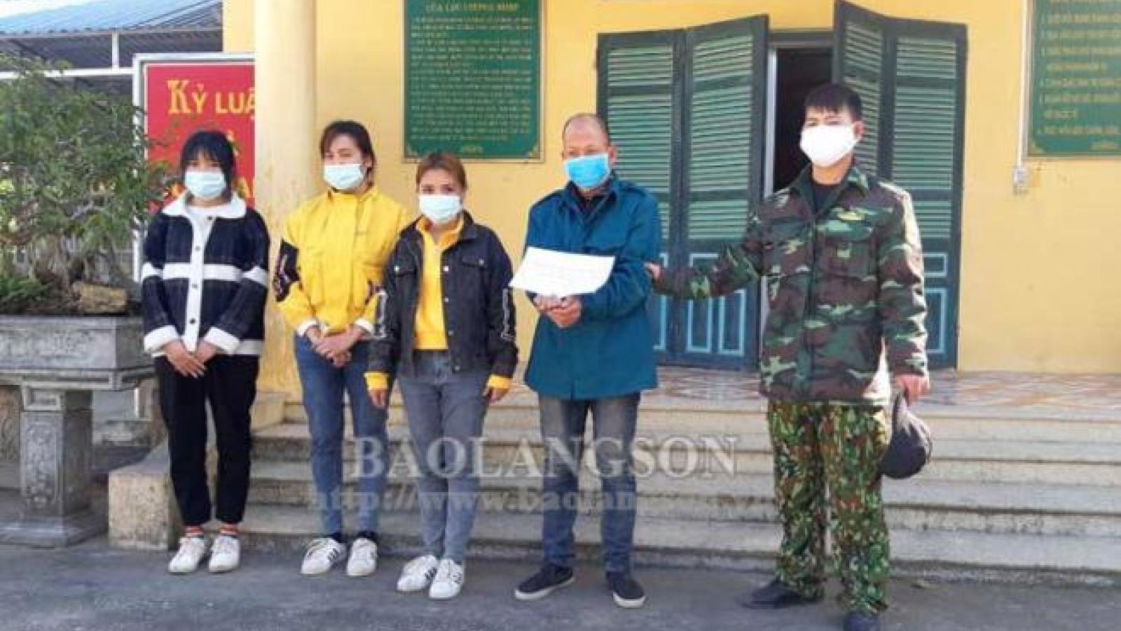 Bắt giữ kẻ đưa 3 người nhập cảnh trái phép từ Trung Quốc vào Việt Nam