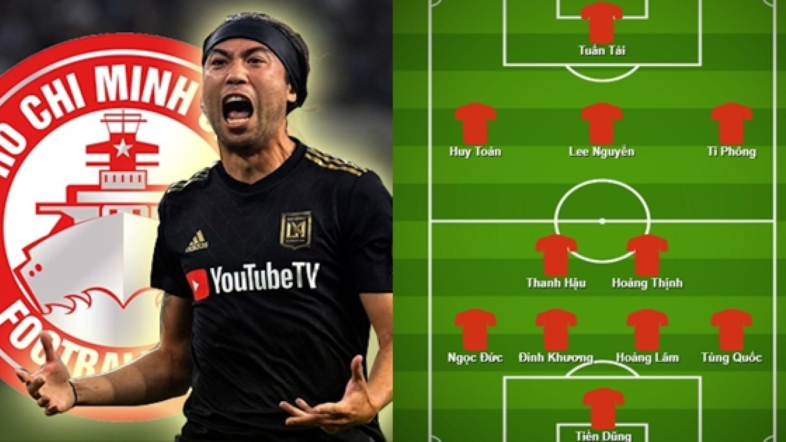 """Lee Nguyễn và đội hình nội binh """"sao số"""" của TPHCM ở V-League 2021"""