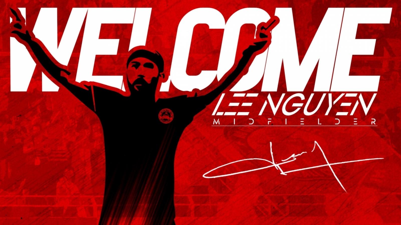 Lee Nguyễn trên đường đến Việt Nam, lỡ trận ra quân V-League 2021