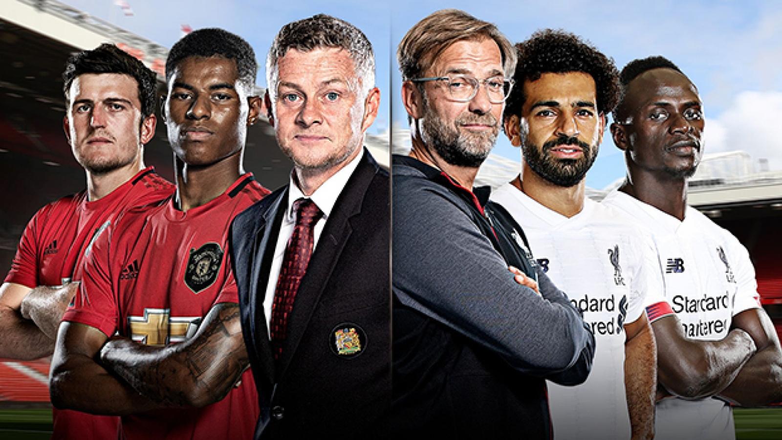 Lịch thi đấu bóng đá hôm nay (24/1): MU đại chiến Liverpool