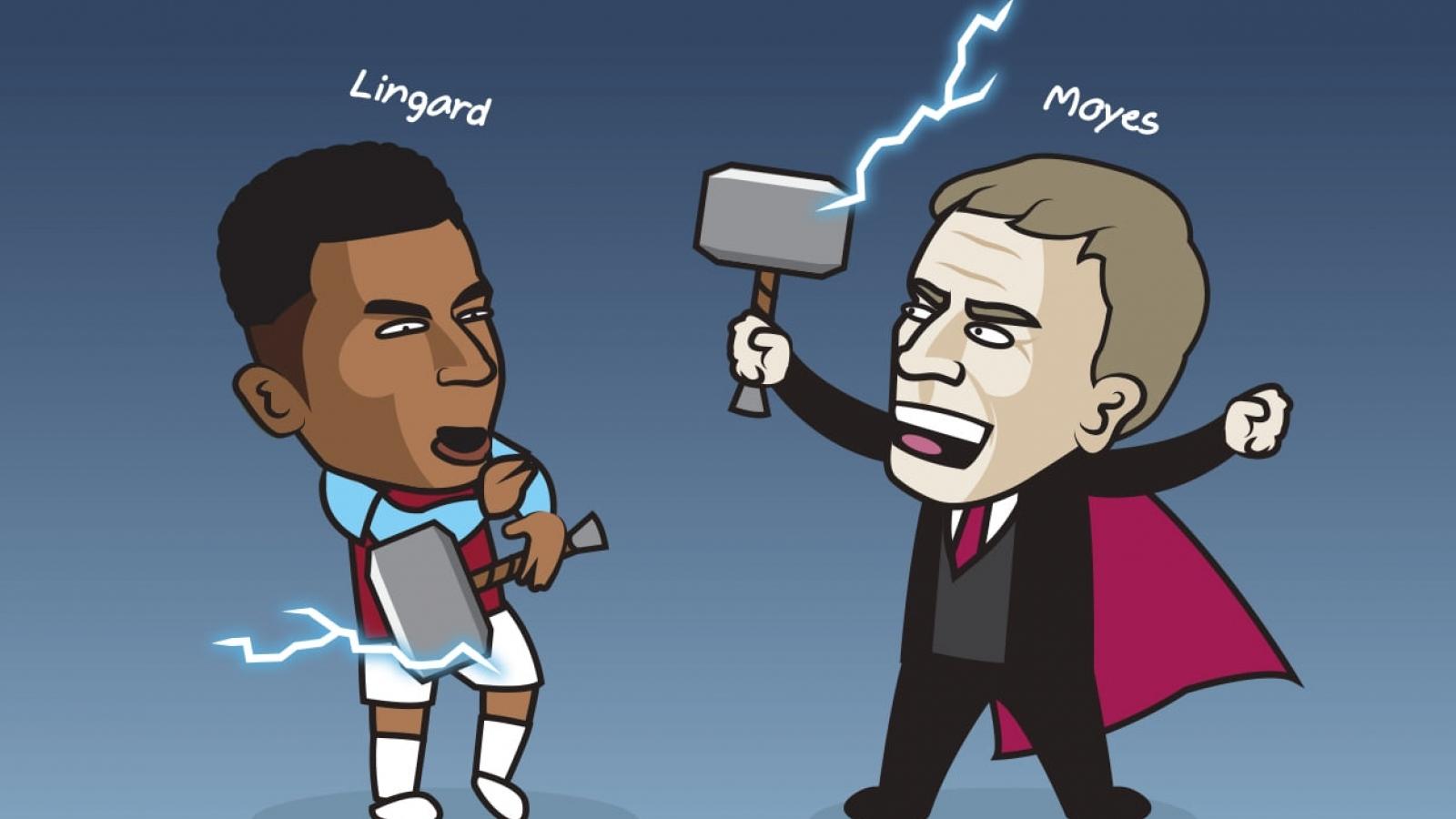 """Biếm họa 24h: """"Lingardinho"""" đưa West Ham lên tầm cao mới"""