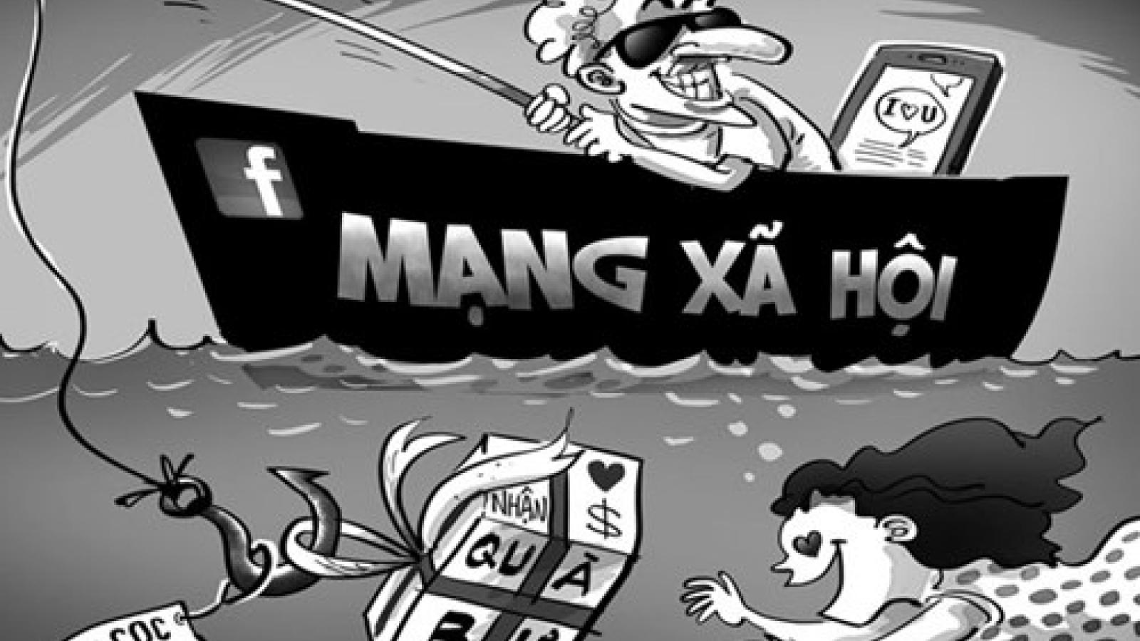 Bắc Giang: Bắt đối tượng lừa tiền và tình thiếu nữ qua mạng xã hội