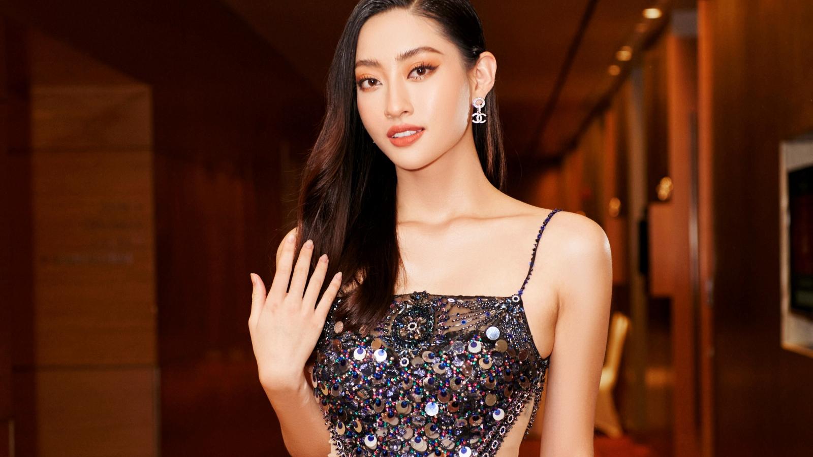 Lương Thùy Linh làm MC hội ngộ Hoa hậu Đỗ Hà, Á hậu Ngọc Thảo trong sự kiện cuối năm