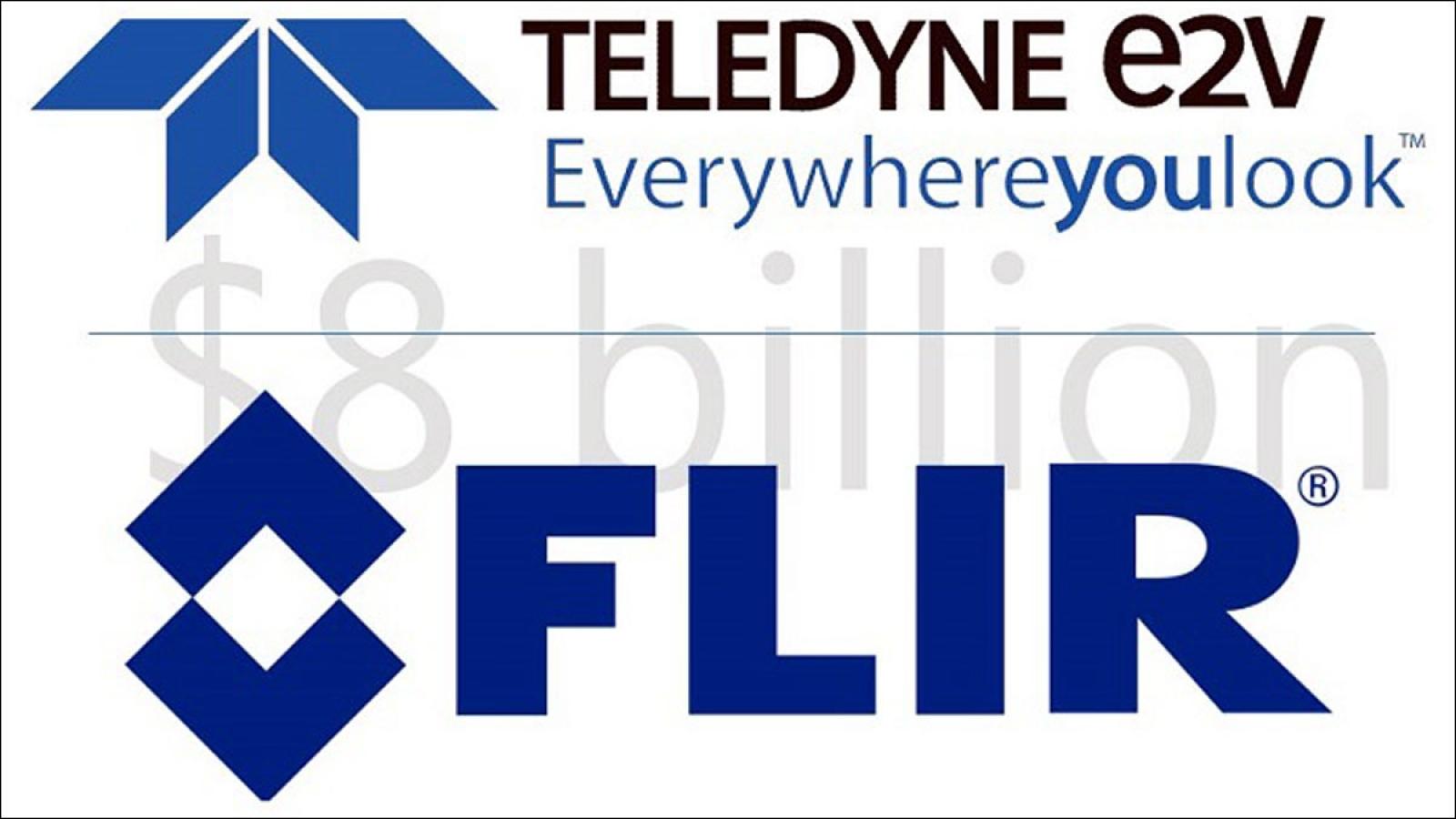 FLIR được hãng cảm biến công nghiệp Teledyne mua lại với giá 8 tỷ USD