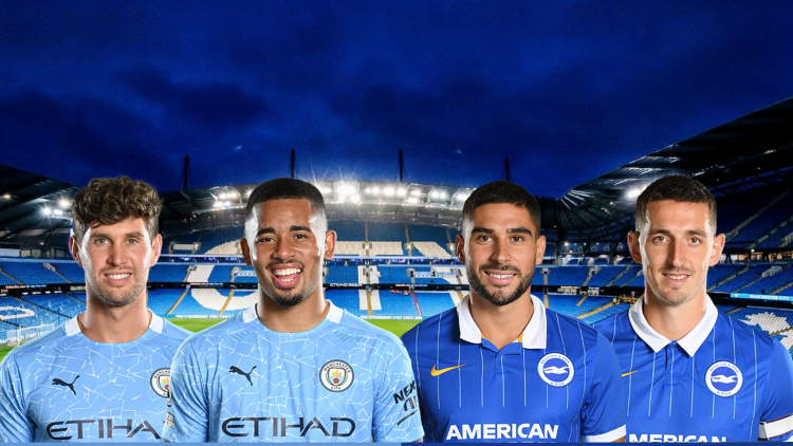 Dự đoán tỷ số, đội hình xuất phát trận Man City - Brighton