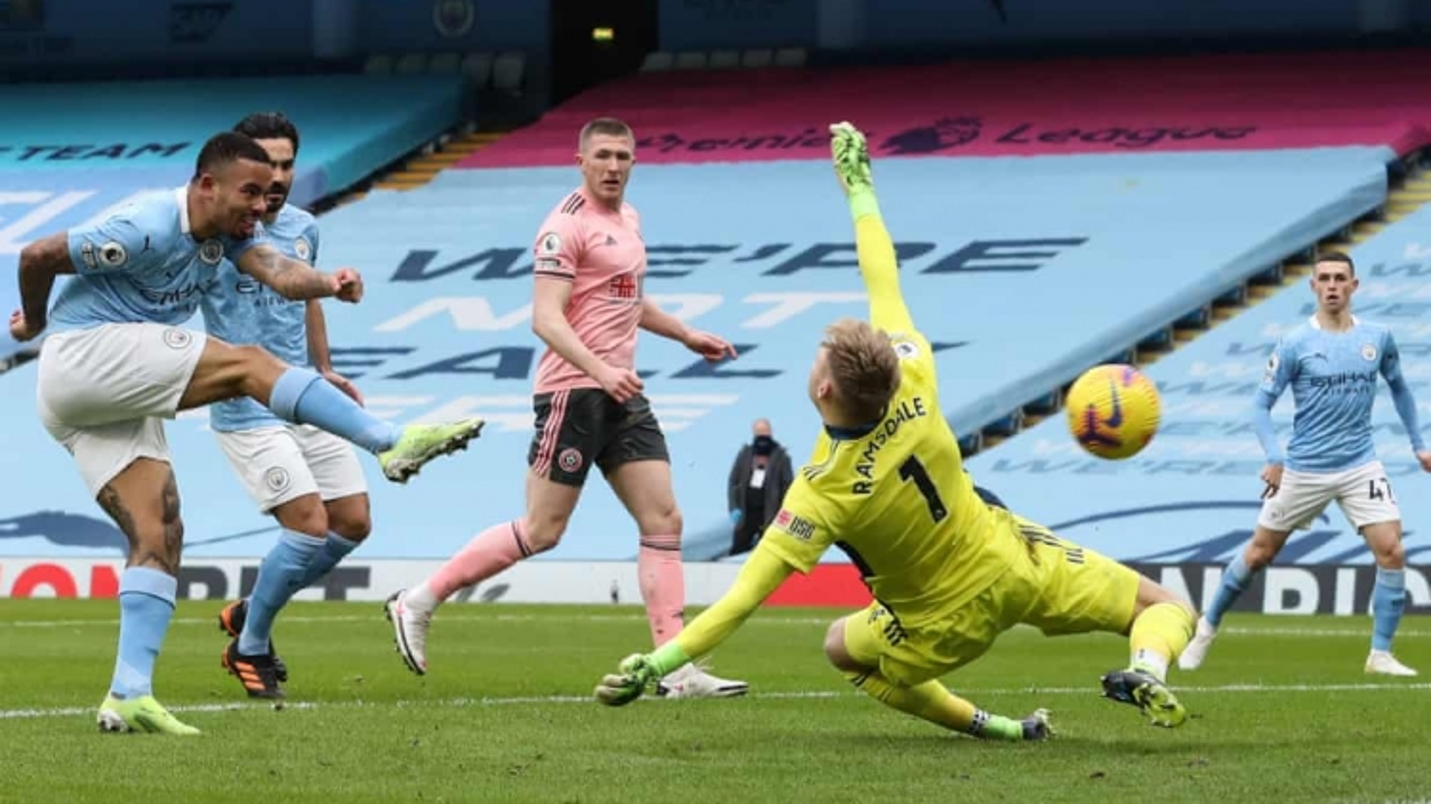 Thắng tối thiểu Sheffield, Man City tiếp tục dẫn đầu Premier League
