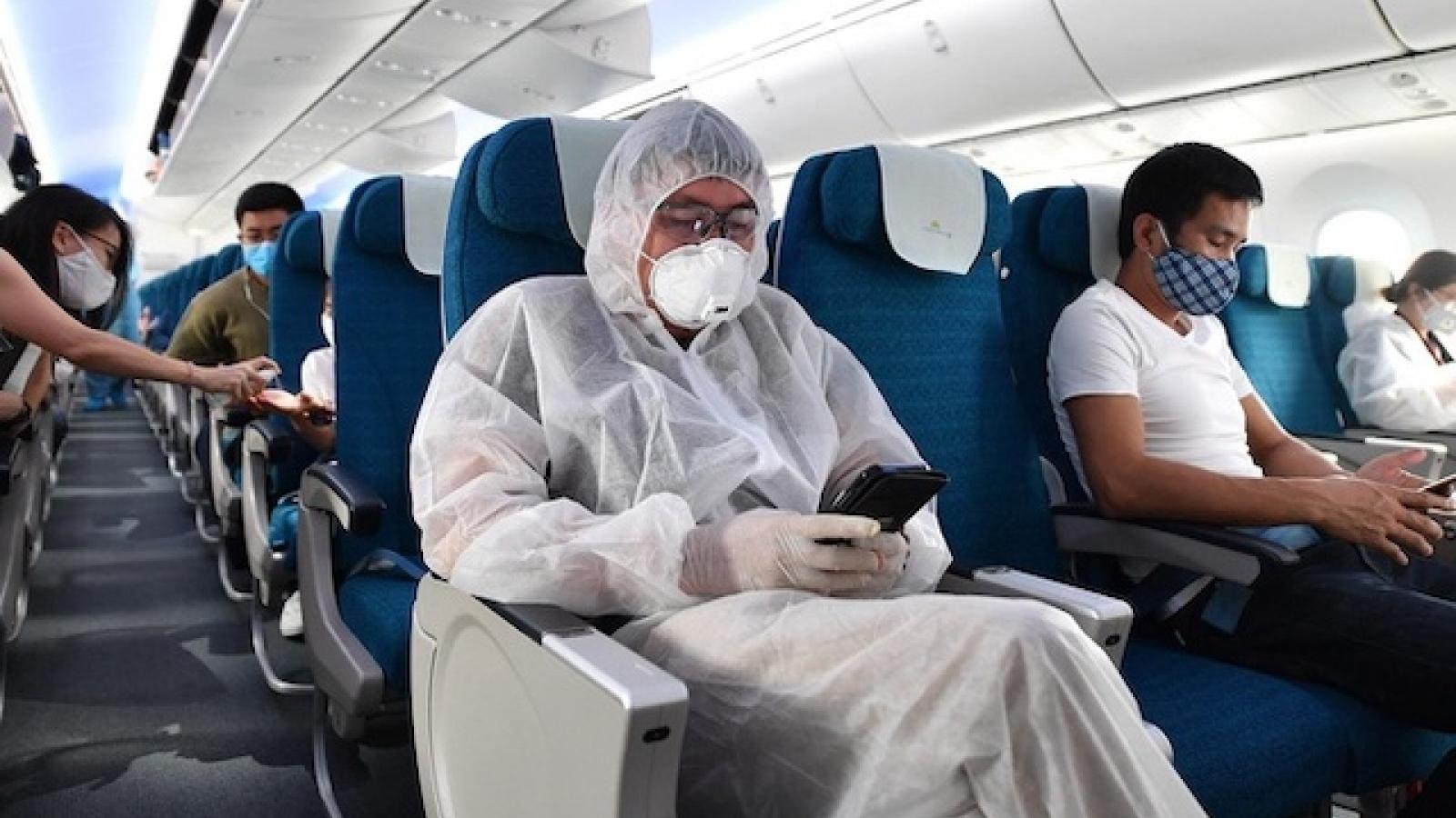 Kích hoạt các biện pháp phòng dịch Covid-19 với khách đi máy bay