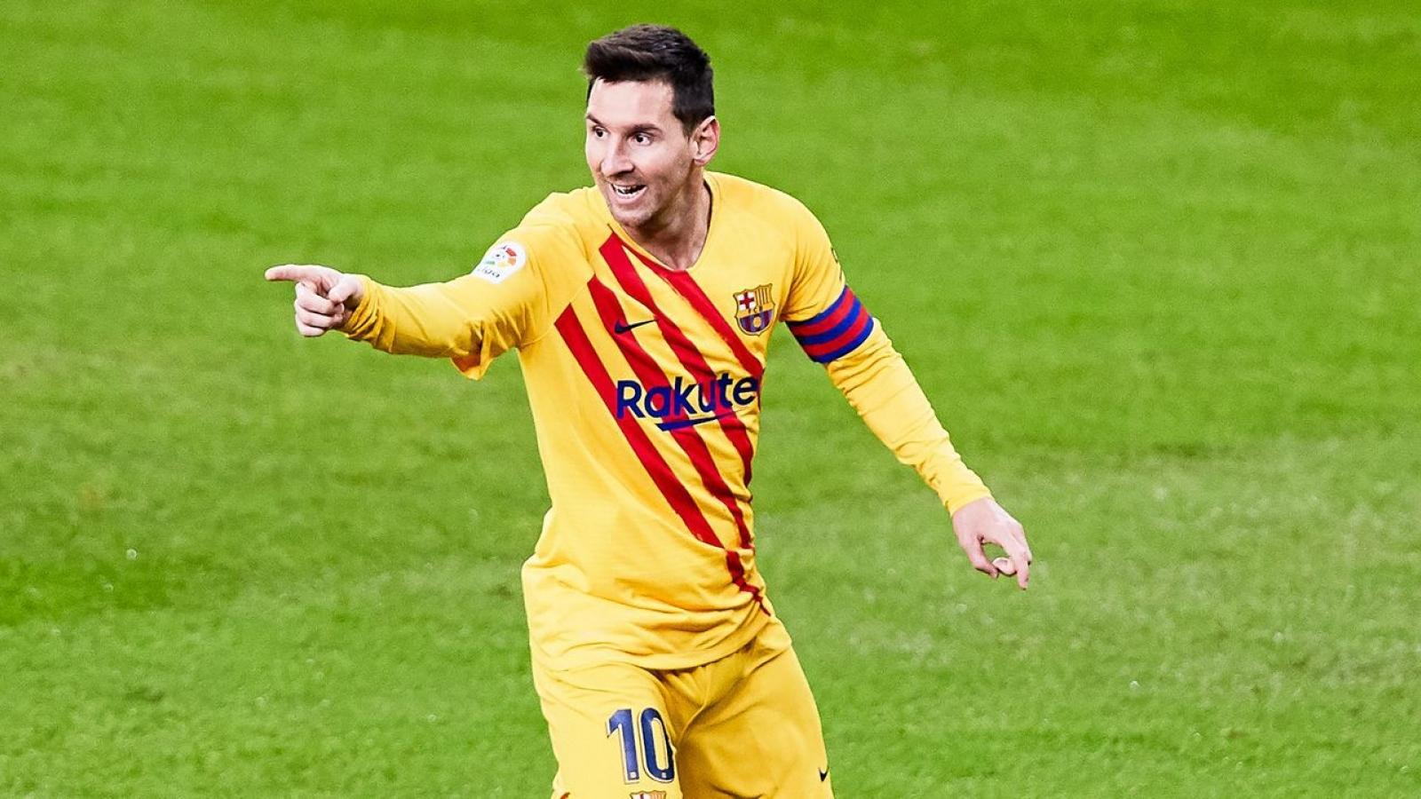 Lionel Messi vươn lên dẫn đầu BXH Vua phá lưới La Liga