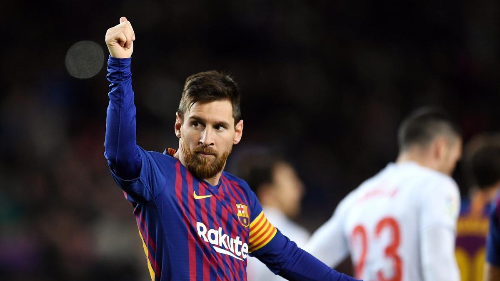 Ngày này năm xưa: Messi đạt cột mốc lịch sử ở La Liga