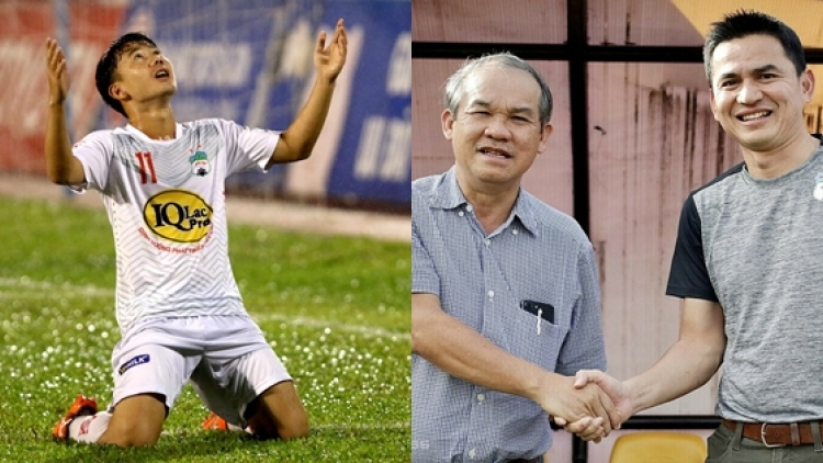 """Minh Vương: """"Cảm ơn bầu Đức đã đưa HLV Kiatisuk tới HAGL"""""""