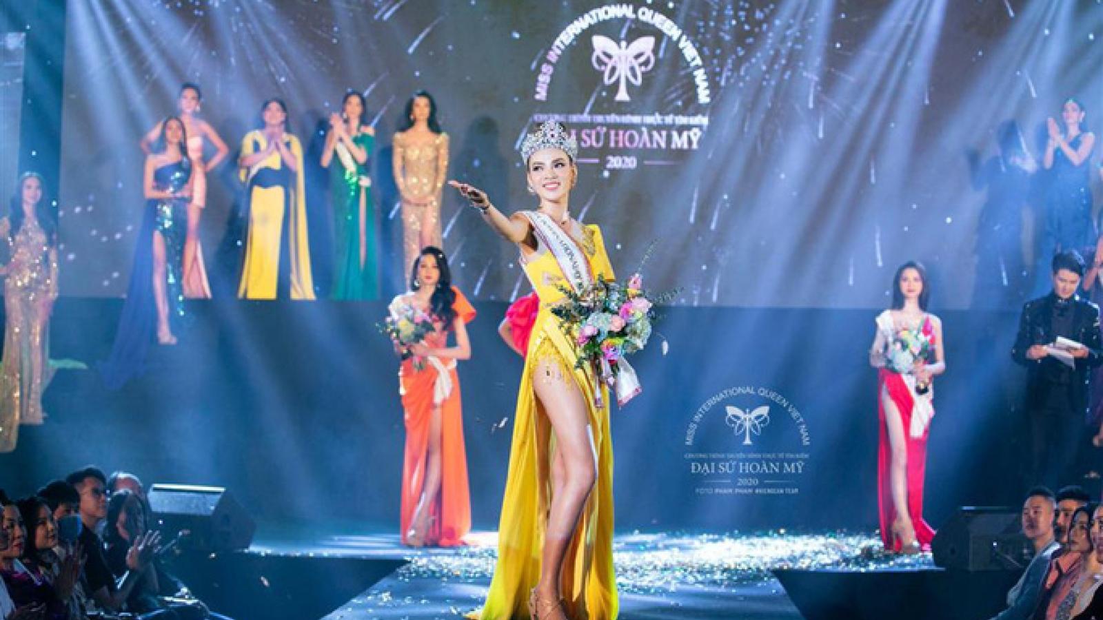 Phuong Truong Tran Dai wins Miss International Queen Vietnam title