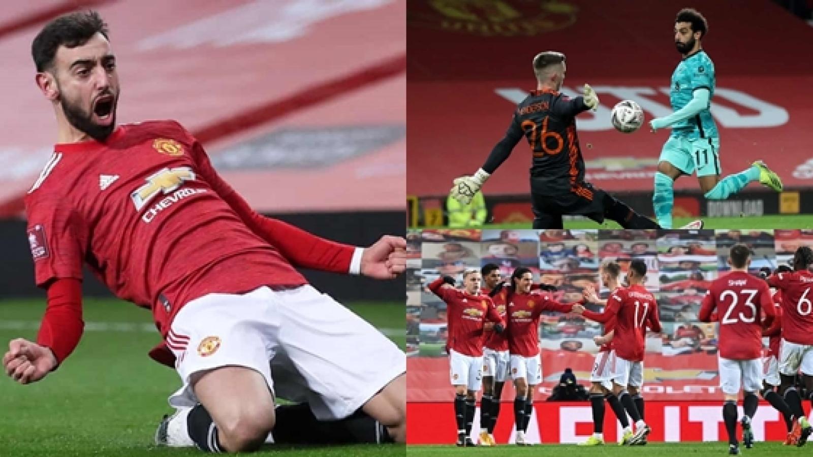 Toàn cảnh MU 3-2 Liverpool: Salah không chống nổi sức mạnh của Quỷ đỏ