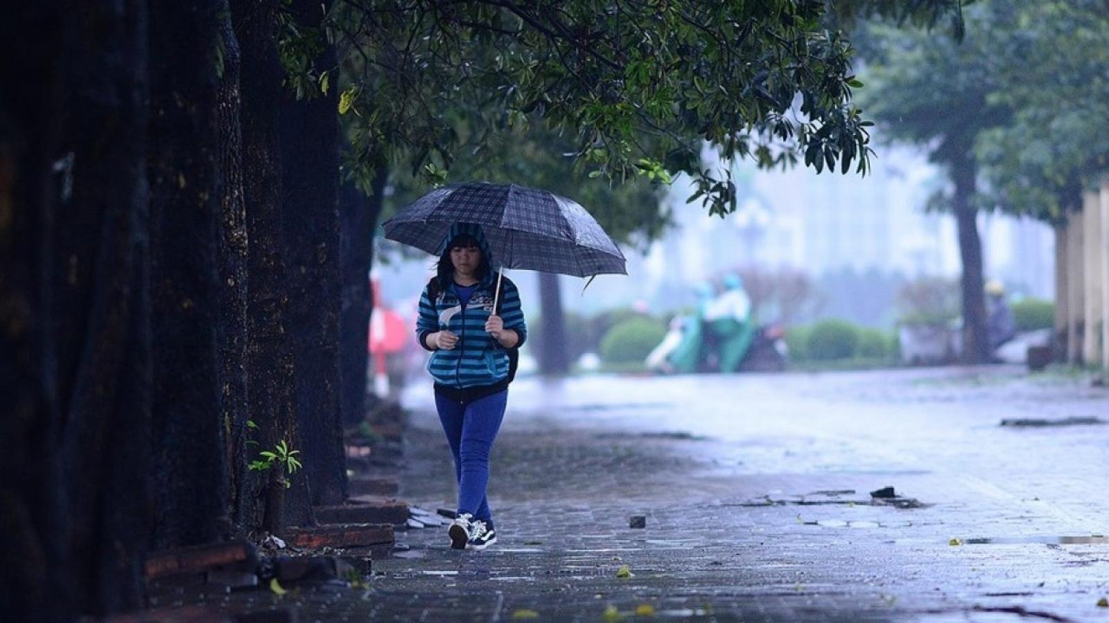 Thời tiết 3 ngày tới: Miền Bắc tiếp tục có mưa nhỏ ở nhiều nơi