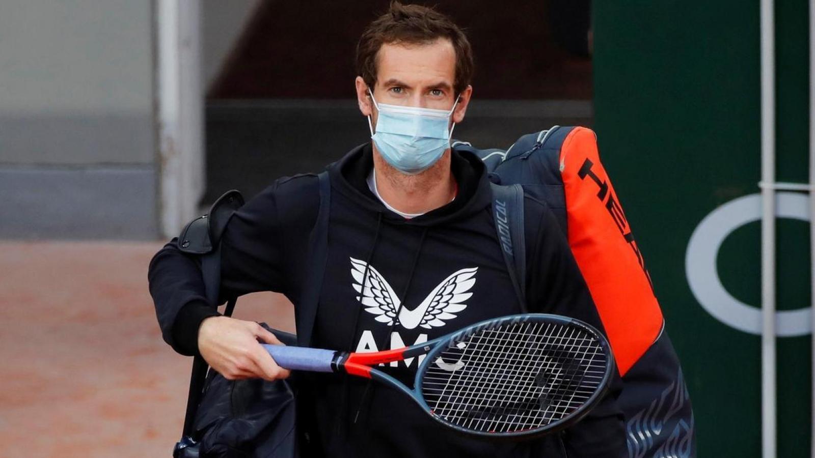 Andy Murray mắc Covid-19 ngay trước Australian Open 2021