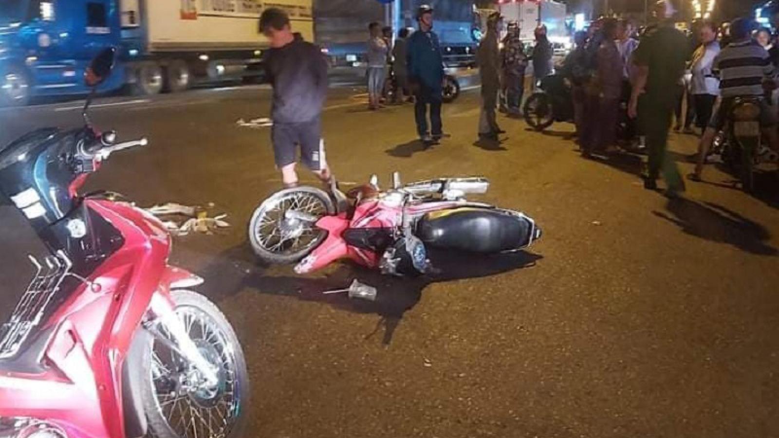 Bình Thuận điều tra vụ xe container kéo thi thể nạn nhân