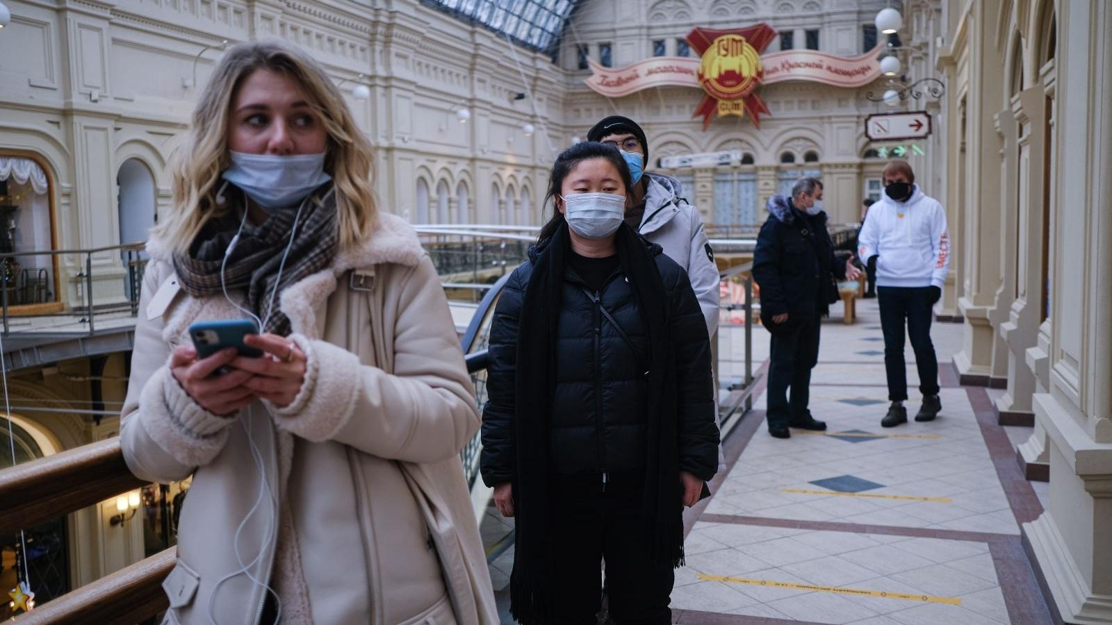 Hơn một nửa số dân thủ đô nước Nga đã nhiễm Covid-19