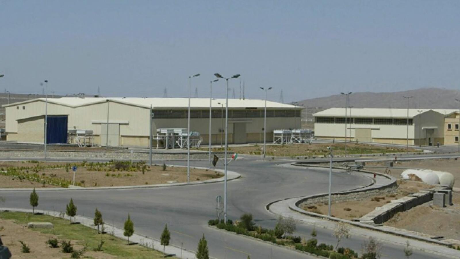 Iran thông báo làm giàu uranium lên 20%