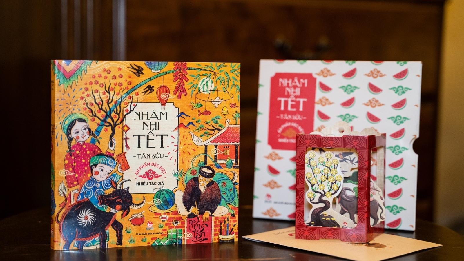 Ấn phẩm Nhâm nhi Tết – Tân Sửu 2021 - và bộ Sách Tết cho độc giả thiếu nhi