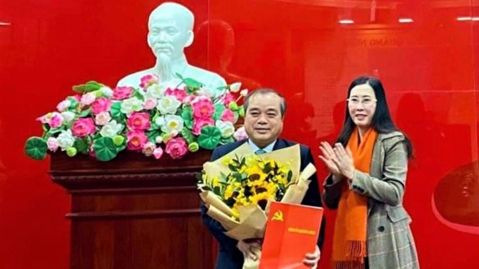 Viện trưởng VKSNDđược bổ nhiệm giữ chức Trưởng Ban Nội chính Tỉnh ủy Quảng Ngãi