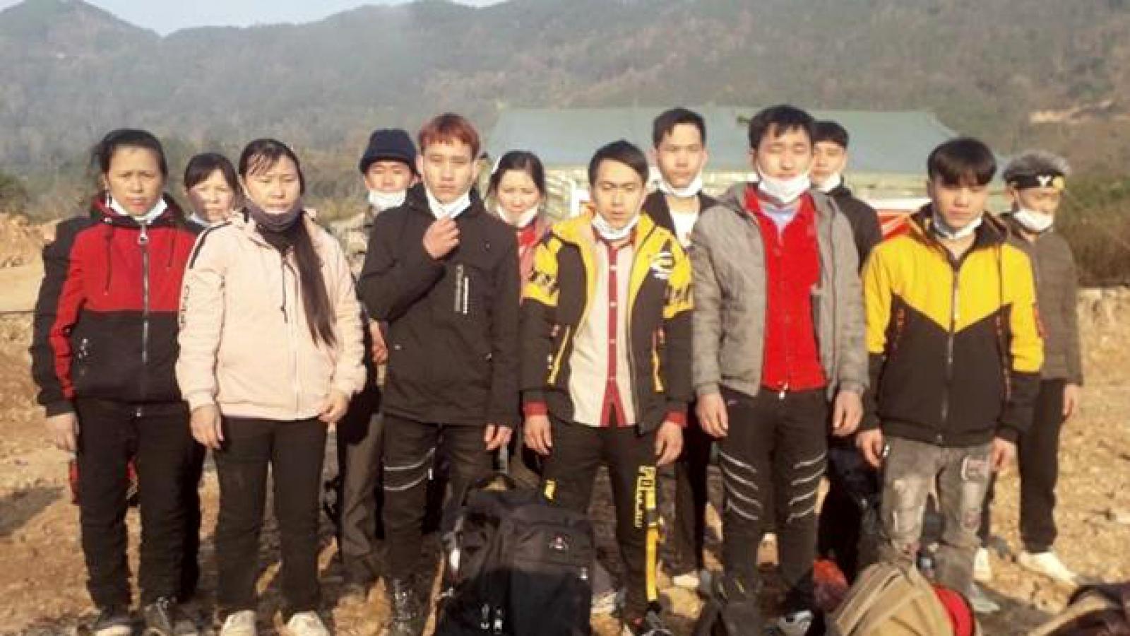 Lạng Sơn bắt 61 người nhập cảnh trái phép trong 3 ngày