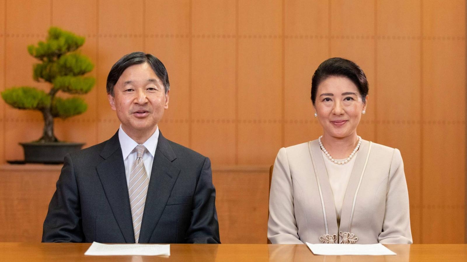 Nhật Hoàng gửi thông điệp chúc mừng năm mới đến toàn thể người dân